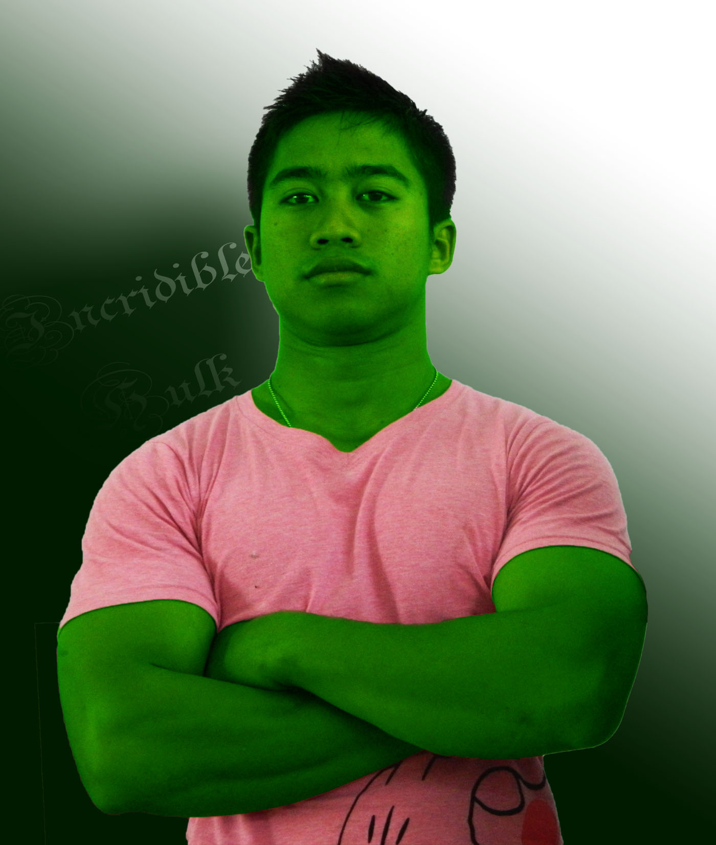 TUTORIAL PHOTOSHOP MANIPULASI THE HULK  Kelas Desain