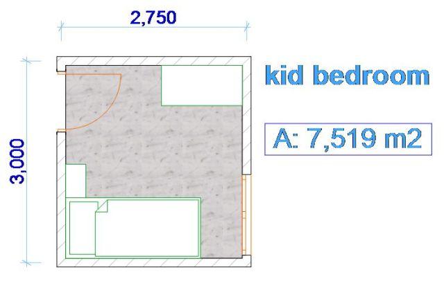 Ukuran Standar Kamar Tidur  desainkamartidurku