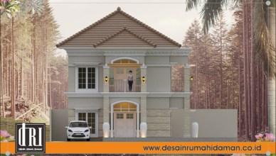 Desain Rumah Hook Klasik 2 Lantai Desain Rumah Idaman