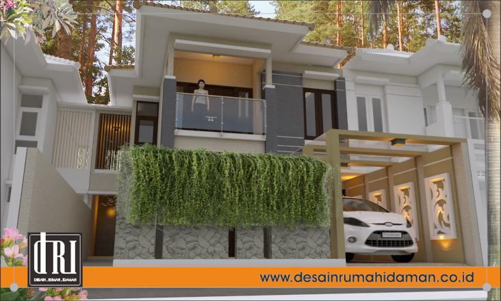 Gambar dan Denah Rumah Modern Minimalis dan Tropis di Brebes Jawa Tengah