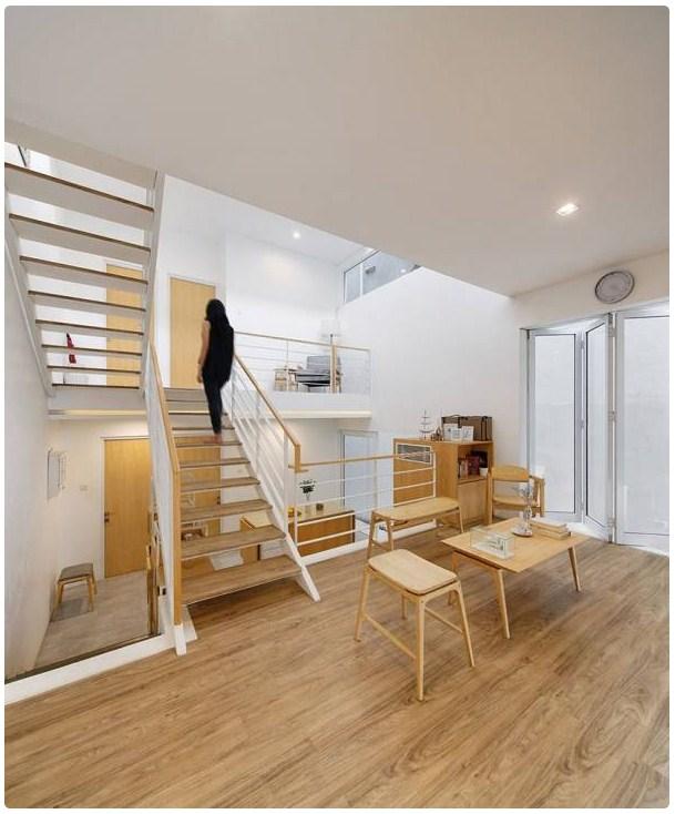 Rumah Tingkat Setengah : rumah, tingkat, setengah, Desain, Rumah, Minimalis, Lantai, Split, Desainrumahminimalis73