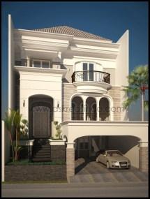 Classic House Facades Design