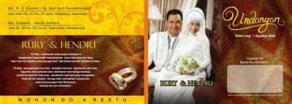 Desain Undangan Pernikahan Terbaru, Jual Desain Undangan Pernikahan Terbaru Cdr