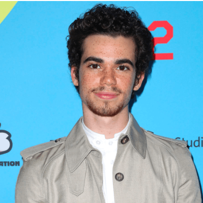 Actor Cameron Boyce, Early 20s.