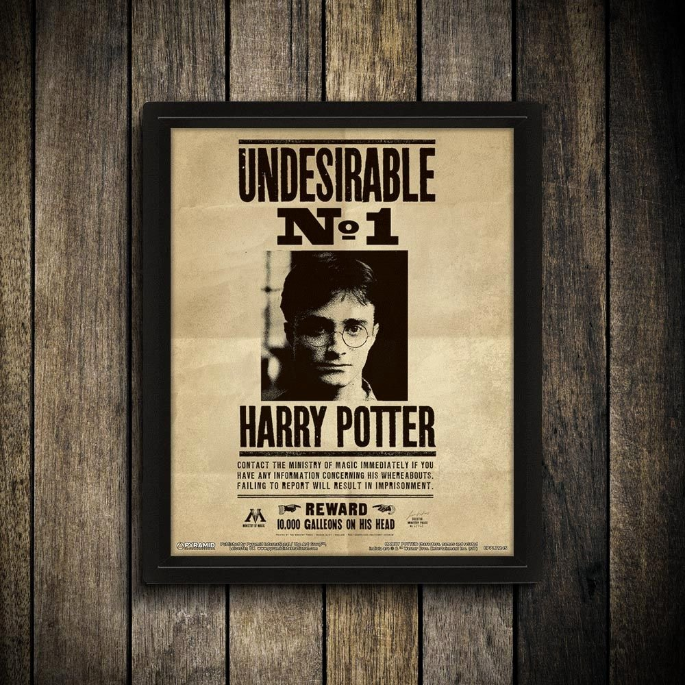 40 Harry Potter Wanted Poster   Desalas Template