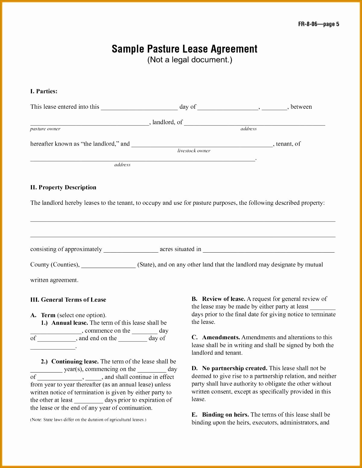 40 Simple Lease Agreement