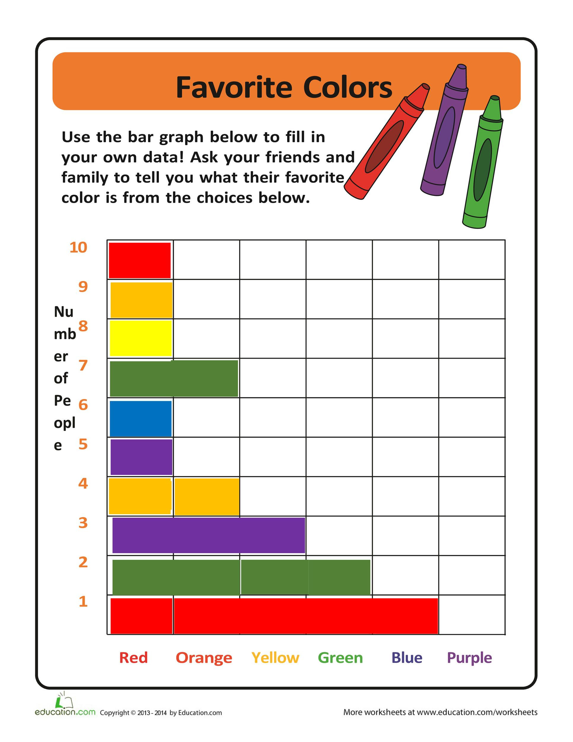 hight resolution of Bar Graph Worksheet 4th Grade   Printable Worksheets and Activities for  Teachers