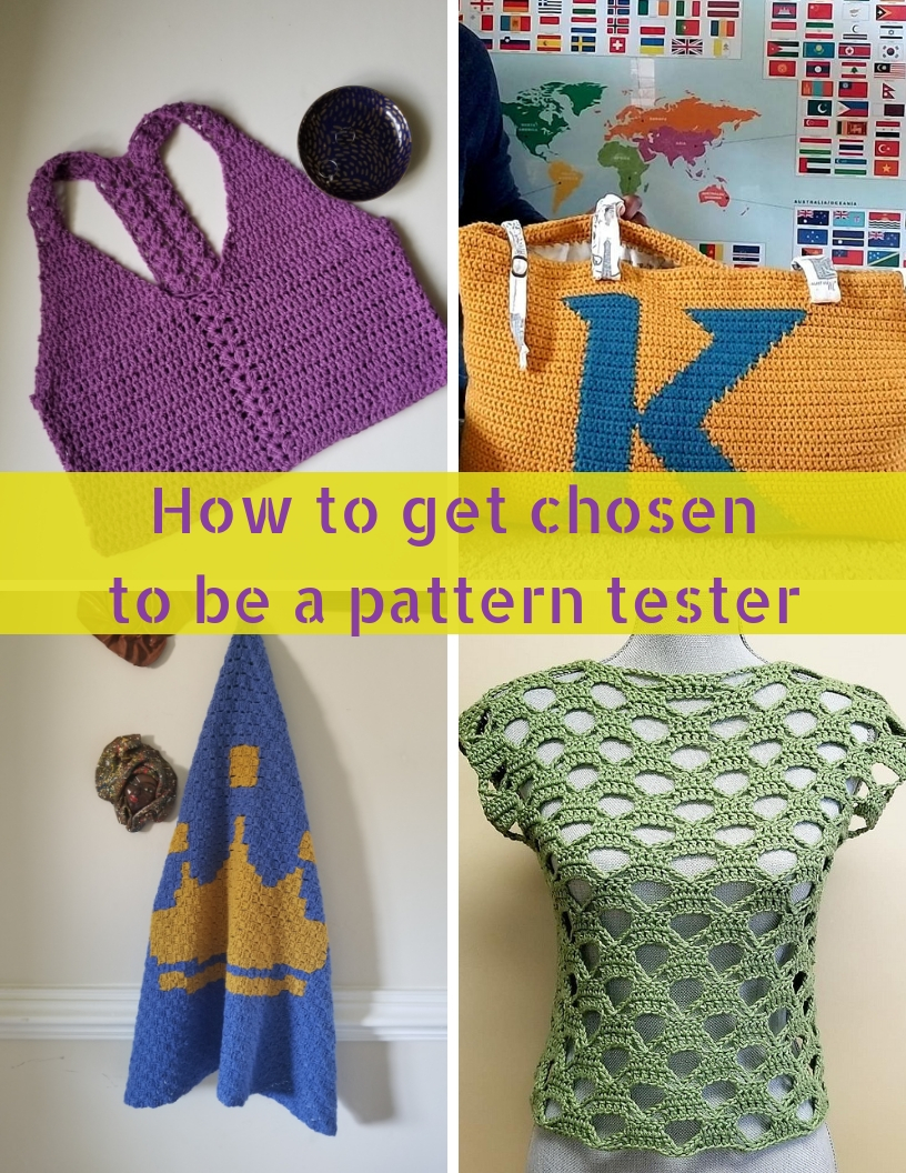 How to get chosen to be a pattern tester