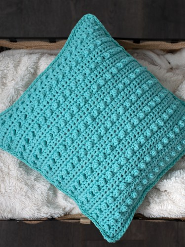 The Picot Pillow Pattern by Ali of The Turtle Trunk