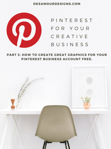 Social Media Series: Pinterest for your Creative Business *Part 3*