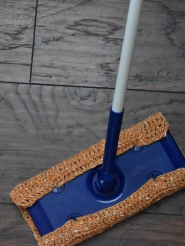The Crochet Dry Mop|Swiffer Pad Pattern