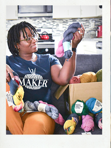 Desamour Designs Podcast Ep 5: New Yarn, BIPOC Make Along & Try it Tuesday Plans