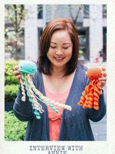 Desamour Designs Podcast Ep. 6: Teaching Diversity through Amigurumi with Annie from Anniegurumi