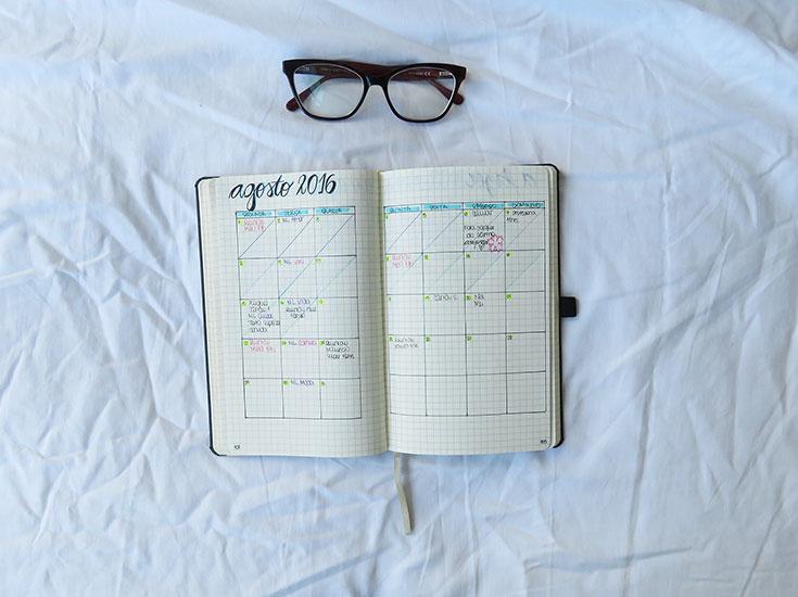 Como ficar motivada com o seu bullet journal