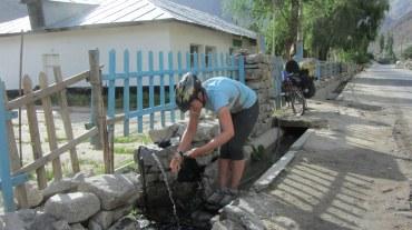 Les petites fontaines sont courantes dans les villages