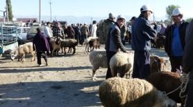 Marche aux animaux de Karakol