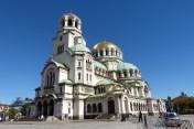 La cathédrale Alexander Nevski, la plus grande église orthodoxe des Balkans.