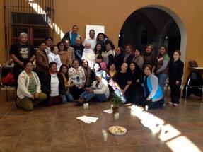 Diciembre del 2013: Última reunión del año compartiendo la vida.