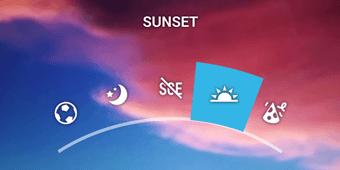 sunset diseño