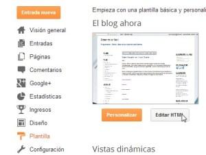 Blogger Plantilla