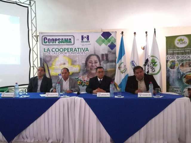Lanzamiento de la alianza estratégica para la cooperación técnica entre INAB y COOPSAMA