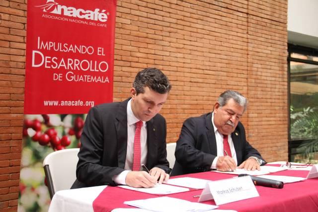 Convenio entre Anacafé y AHK contribuirá al posicionamiento de los cafés de Guatemala en el mercado alemán