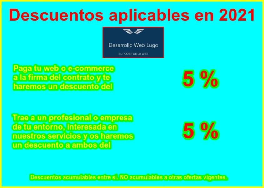Promociones Desarrollo Web Lugo