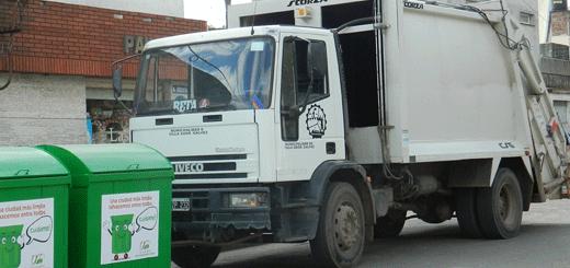 Cronograma de recolección de residuos durante fin de semana largo
