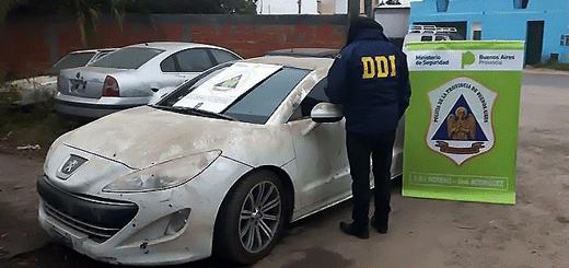Secuestran en Buenos Aires un auto de alta gama que era de la banda de Los Monos