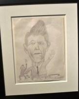 Dibujo realizado por Cobain en una clase de arte
