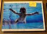 Arte original del disco Nevermind, enviado a Nirvana para su autorización