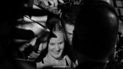 Valentina Shevchenko with fans Valentina Shevchenko Valentina Shevchenko at the Fight Night Holm vs Shevchenko weigh ins on July 22, 2016 (Photo by Juan Cardenas)