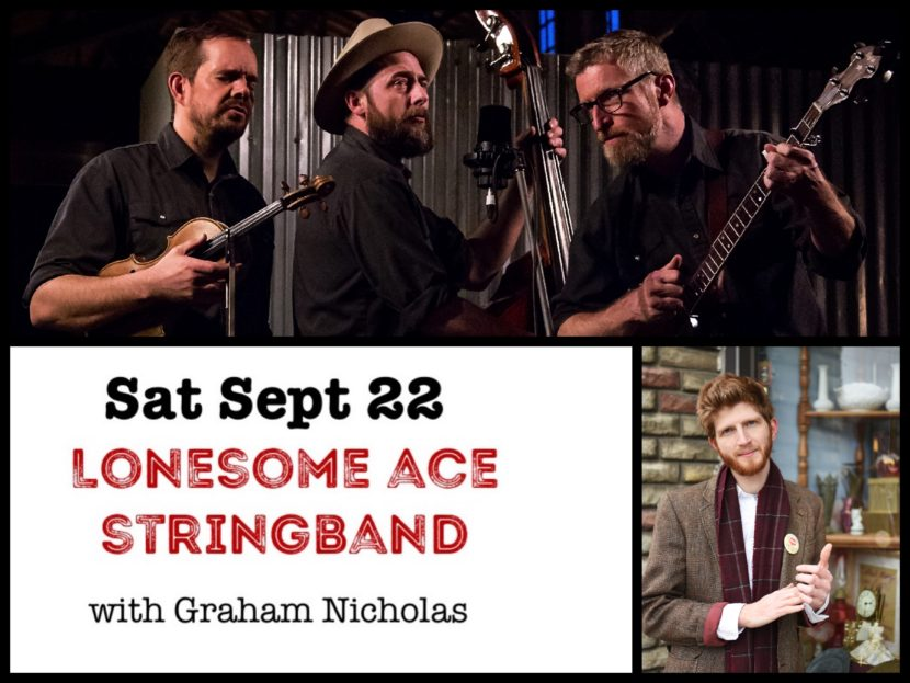 Lonesome Ace String Band at Desboro Music Hall - Meaford Live Music