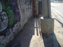Calçada Irregular da Av. São Miguel
