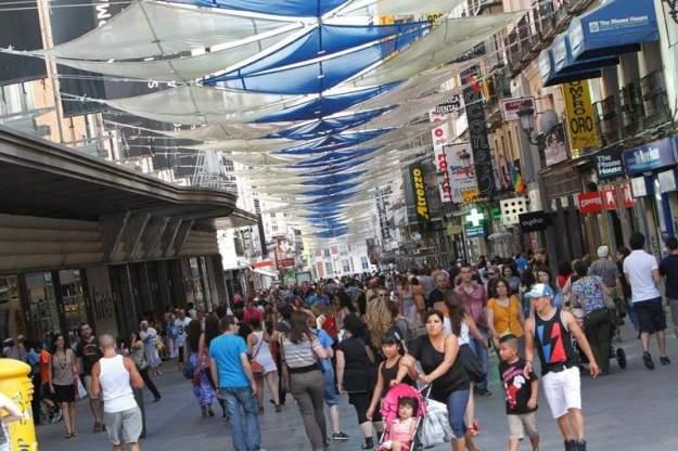 coisas que odeio em Madrid, ong, calle preciados