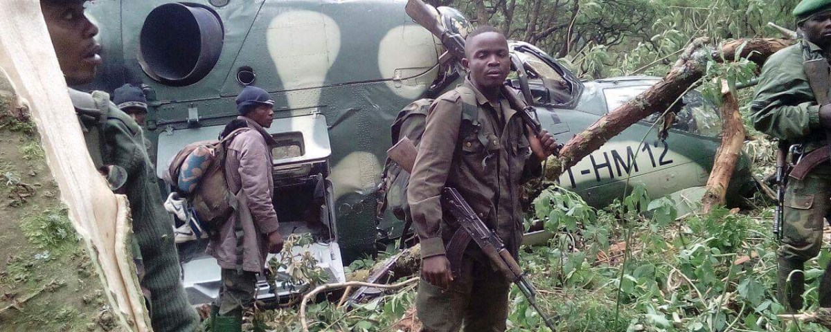 Rdc les crashes des h licopt res l arm e congolaise for Arme defense maison