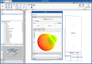 CYPETEL Wireless. Visualización 3D de los diagramas de radiación de los emisores
