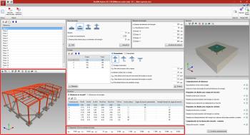 StruBIM Anchors ACI-318. Visualización en el modelo BIM de las placas y los anclajes