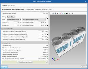 Open BIM TOSHIBA. Visualización 3D de equipos en sus paneles de edición