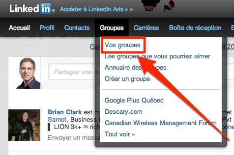 Linkedin groupe abonnement Linkedin: comment se désabonner dun groupe