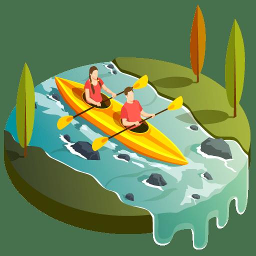 icono descenso del rio sella