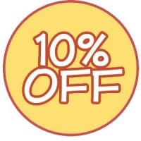 10 procent onder de vraagprijs