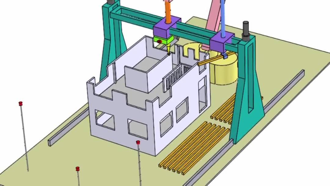 3D printer voor huizen - duurzaam en goedkoop
