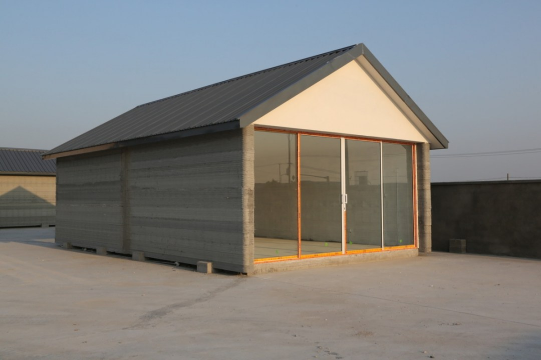 Eenvoudig en duurzaam huisje met 3D printer gemaakt