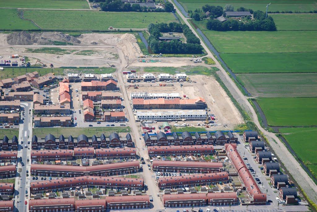 Vinex wijk in aanbouw