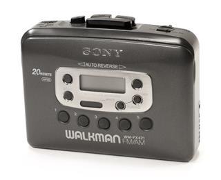 Voorloper van de MP3 speler