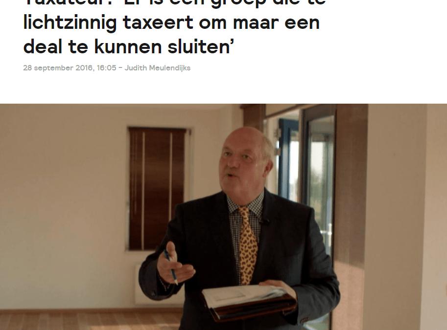 Is de taxateur nog geloofwaardig?
