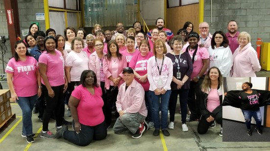 Plant 11 NC1 Breast Cancer Awareness Day 2018