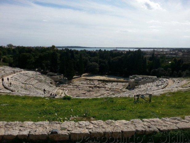 Teatro Grego de Siracusa