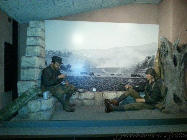Museu em Catânia: Museo sobre a 2ª Guerra